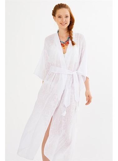 Just like you Kimono Beyaz